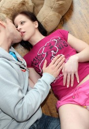 Teen couple fuck for first time (1)