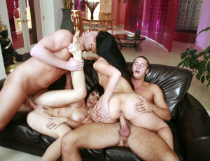 Swingers foursome sex