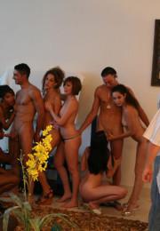 Highrise-Hanky-Panky-Horny ladies in group sex orgies (5)